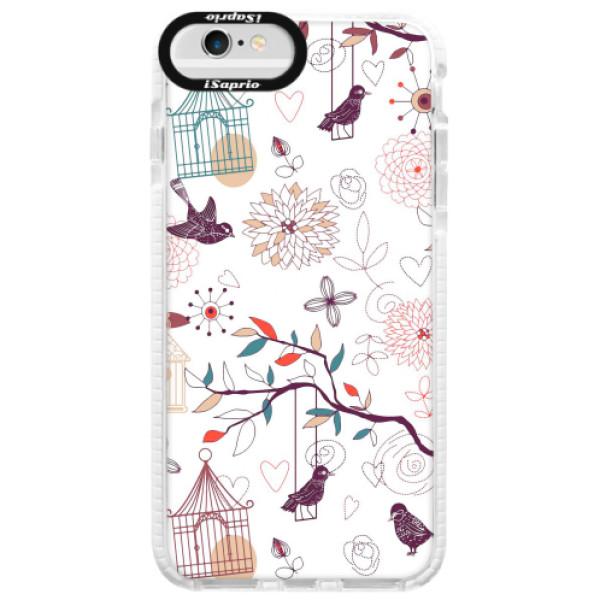 Silikonové pouzdro Bumper iSaprio - Birds - iPhone 6 Plus/6S Plus