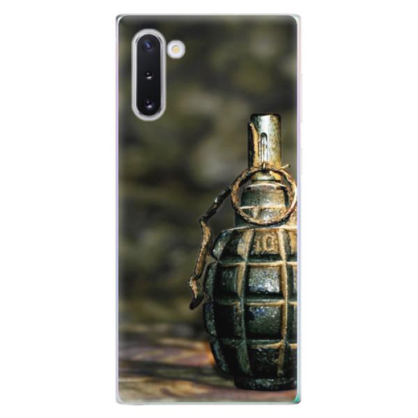 Odolné silikonové pouzdro iSaprio - Grenade - Samsung Galaxy Note 10