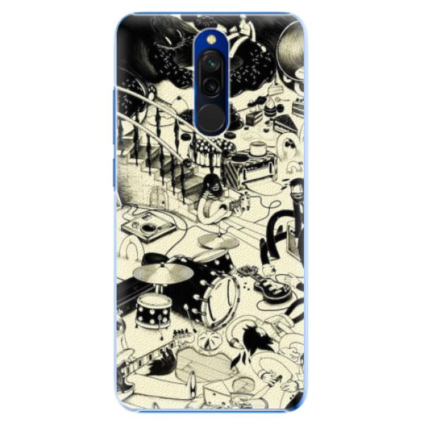 Plastové pouzdro iSaprio - Underground - Xiaomi Redmi 8