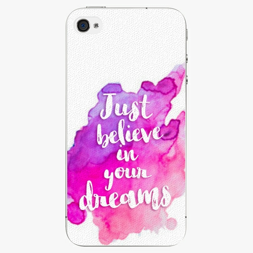 Plastový kryt iSaprio - Believe - iPhone 4/4S