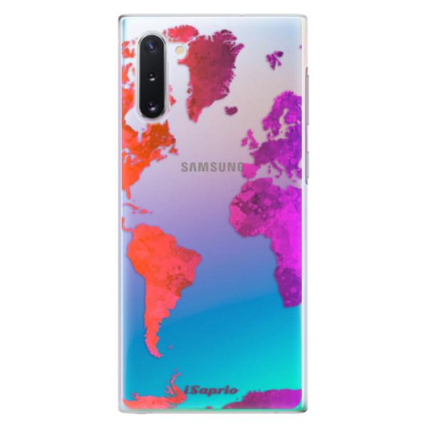 Plastové pouzdro iSaprio - Warm Map - Samsung Galaxy Note 10