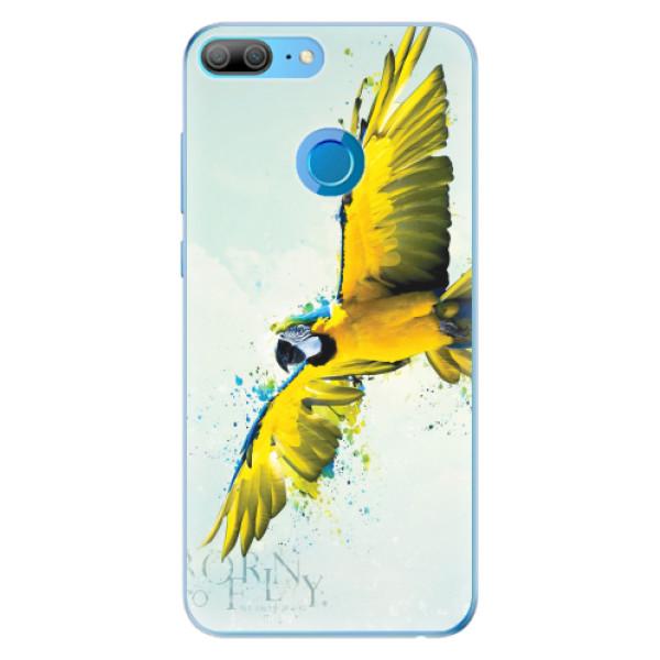 Odolné silikonové pouzdro iSaprio - Born to Fly - Huawei Honor 9 Lite