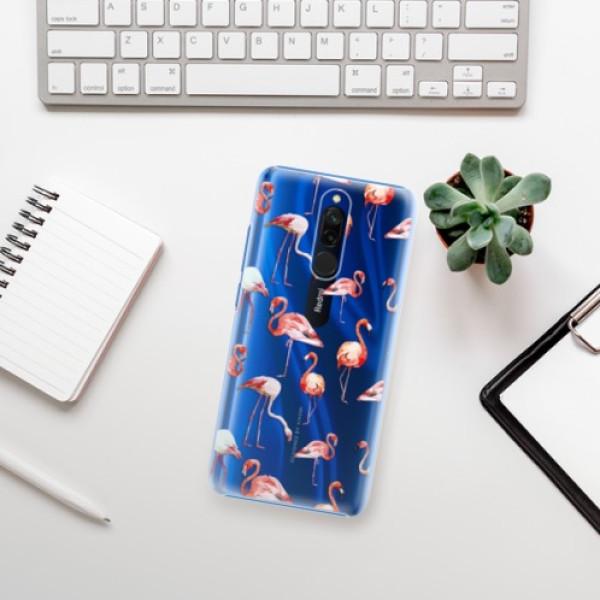 Plastové pouzdro iSaprio - Flami Pattern 01 - Xiaomi Redmi 8