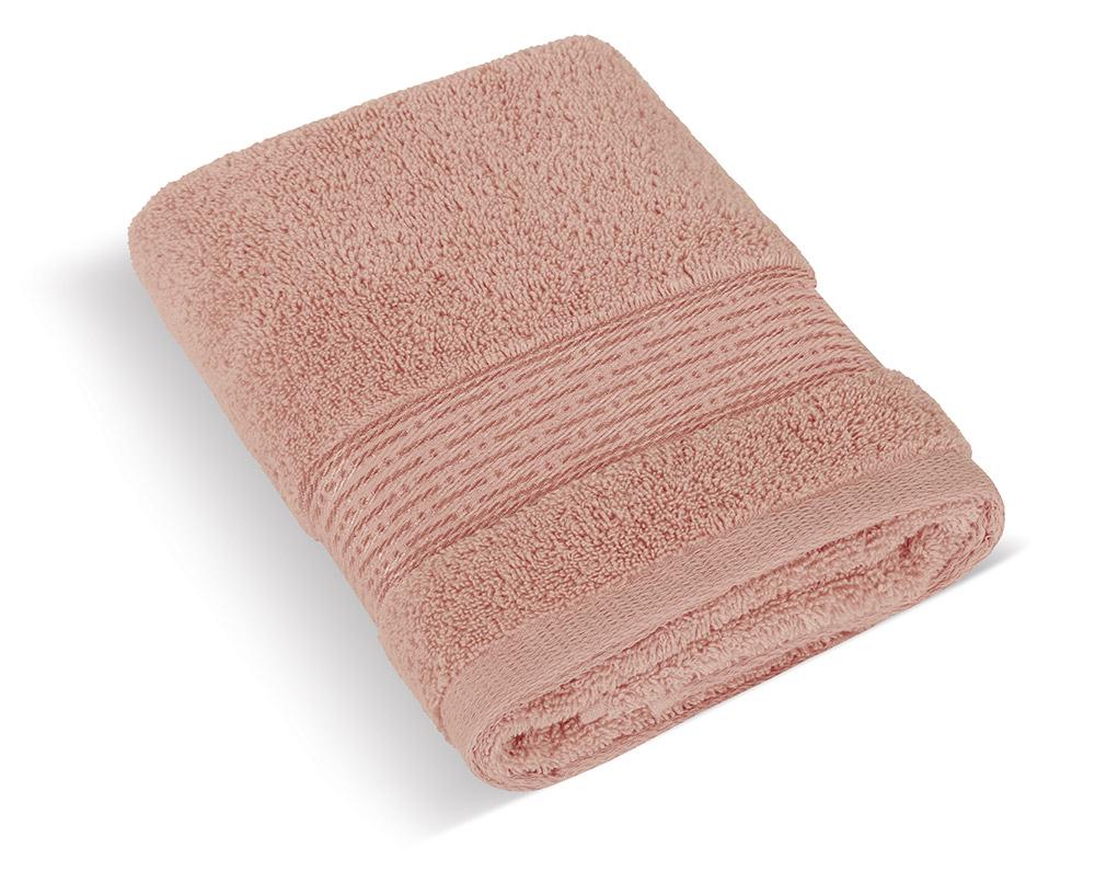 Froté ručník 50x100cm proužek 450g burgundy