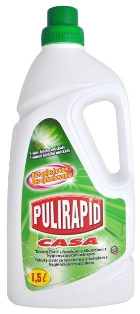 Pulirapid Casa univerzální čistič se čpavkem 1500 ml, Bílý muškát