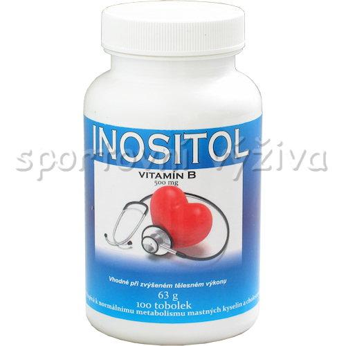 Inositol 500mg 100 kapslí