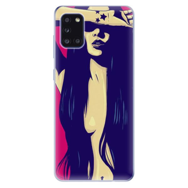 Odolné silikonové pouzdro iSaprio - Cartoon Girl - Samsung Galaxy A31