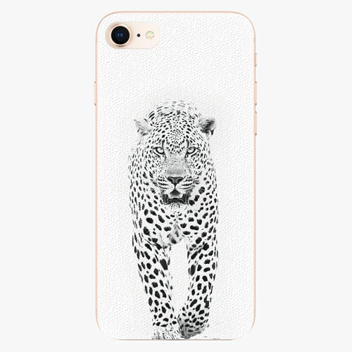 Plastový kryt iSaprio - White Jaguar - iPhone 8