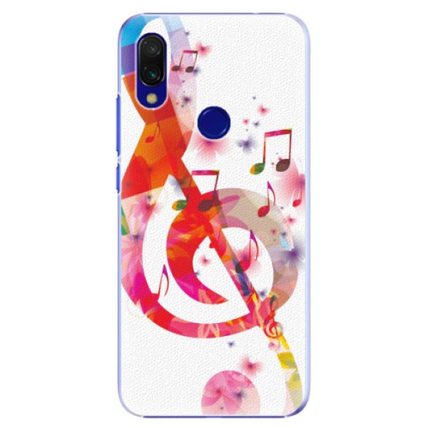 Plastové pouzdro iSaprio - Love Music - Xiaomi Redmi 7