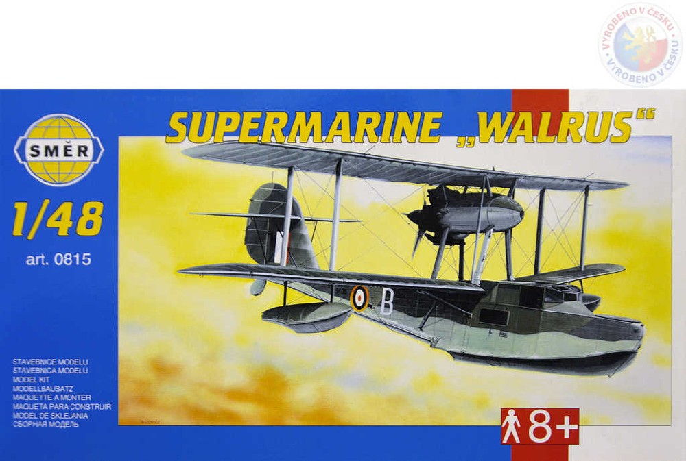 SMĚR Model letadlo Supermarine Walrusm Mk.2 1:48 (stavebnice letadla)