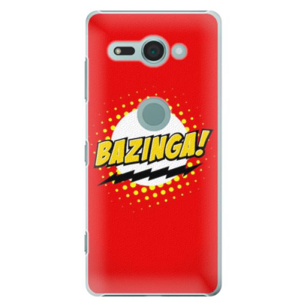 Plastové pouzdro iSaprio - Bazinga 01 - Sony Xperia XZ2 Compact