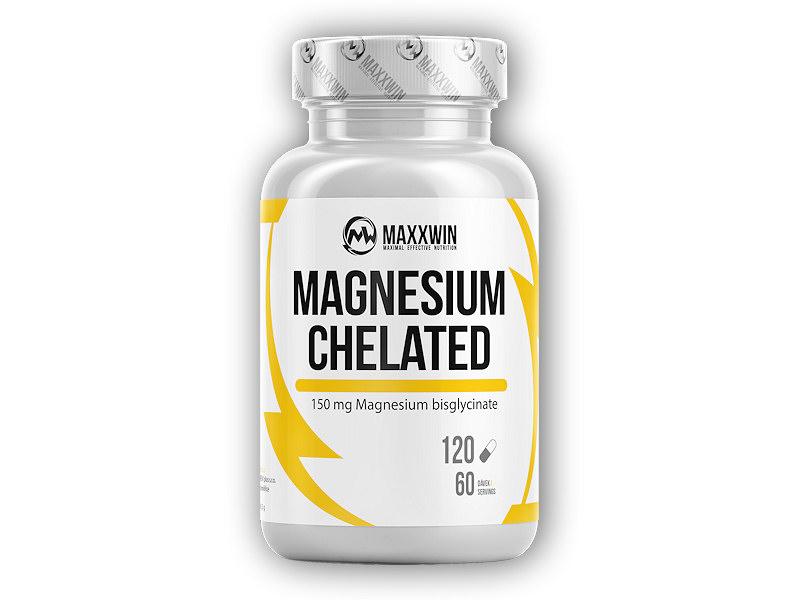 Magnesium Chelated Vegan 120 kapslí