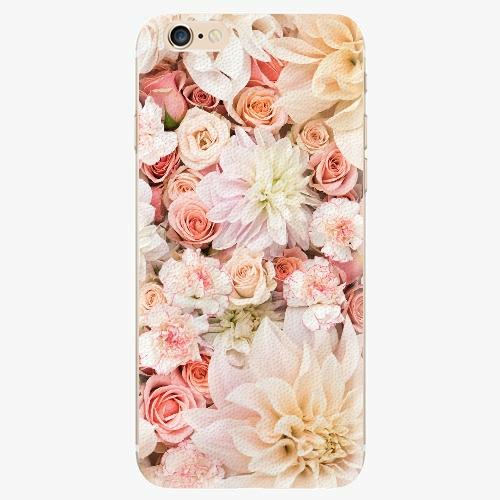 Silikonové pouzdro iSaprio - Flower Pattern 06 - iPhone 6/6S