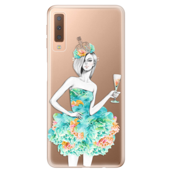 Odolné silikonové pouzdro iSaprio - Queen of Parties - Samsung Galaxy A7 (2018)