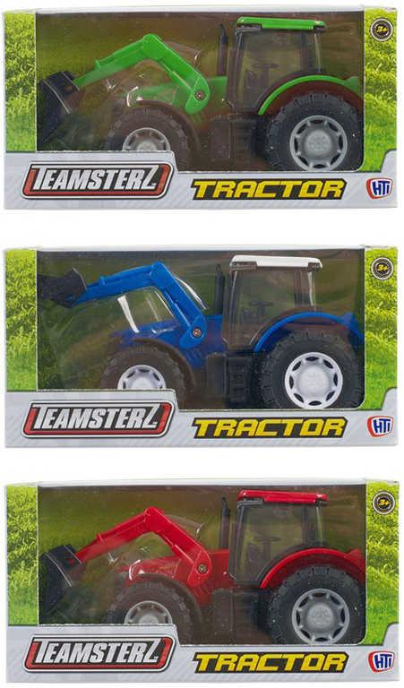 Teamsterz traktor s čelním nakladačem 3 barvy