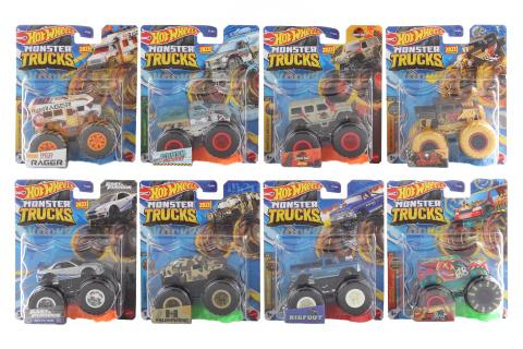 Hot Wheels Monster trucks kaskadérské kousky FYJ44 TV 1.4.-30.6.