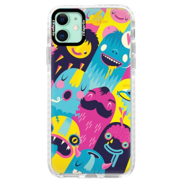 Silikonové pouzdro Bumper iSaprio - Monsters - iPhone 11