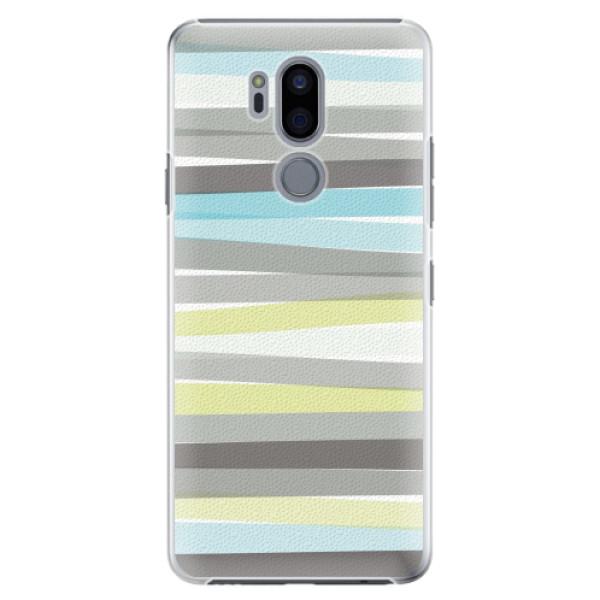 Plastové pouzdro iSaprio - Stripes - LG G7