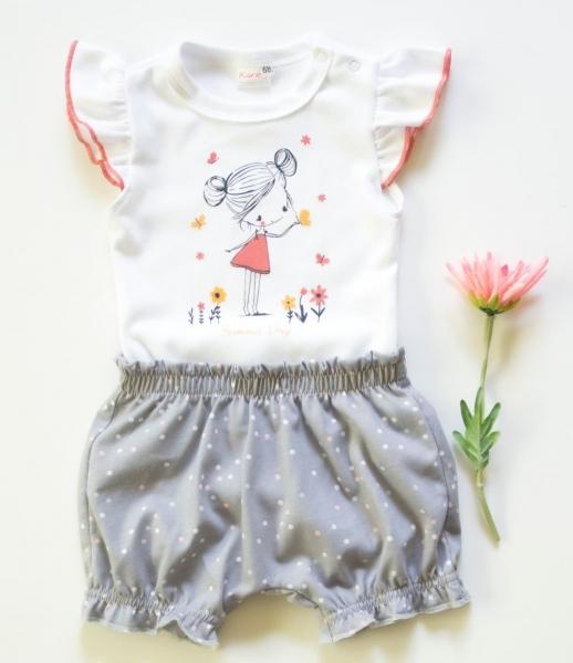 k-baby-2-dilna-detska-sada-body-s-kratasky-girl-vel-74-seda-74-6-9m