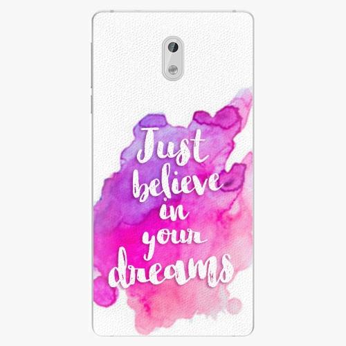 Plastový kryt iSaprio - Believe - Nokia 3