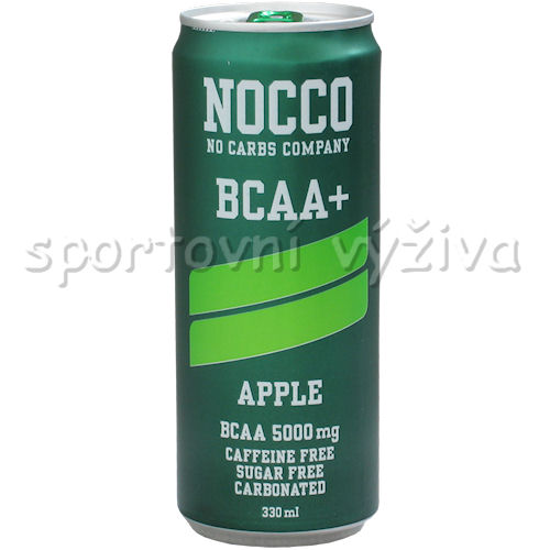 NOCCO BCAA 330ml AKCE-apple