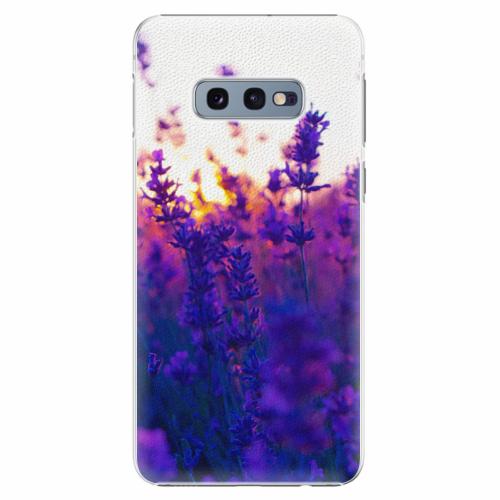 Plastový kryt iSaprio - Lavender Field - Samsung Galaxy S10e