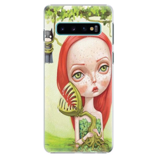 Plastové pouzdro iSaprio - Poison - Samsung Galaxy S10
