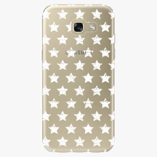 Plastový kryt iSaprio - Stars Pattern - white - Samsung Galaxy A5 2017