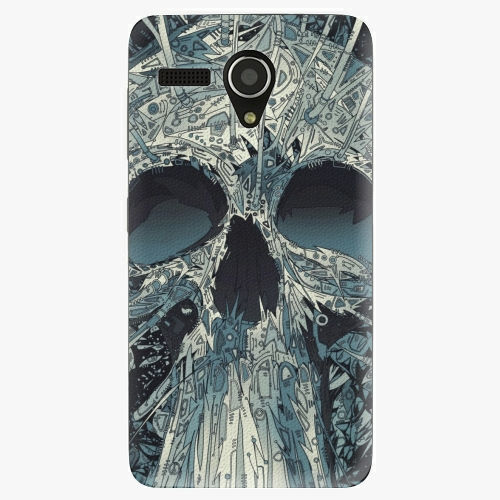 Plastový kryt iSaprio - Abstract Skull - Lenovo A606
