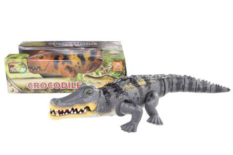 Krokodýl chodící na baterie