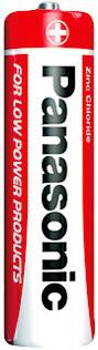 Baterie AA tužková obyčejná R6 RZ Panasonic