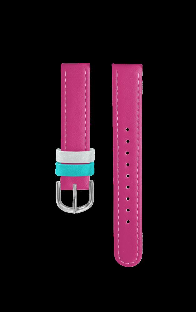 Růžový řemínek k dětským hodinkám CLOCKODILE