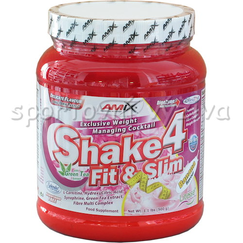 Shake 4 Fit & Slim - 500g-vanilla