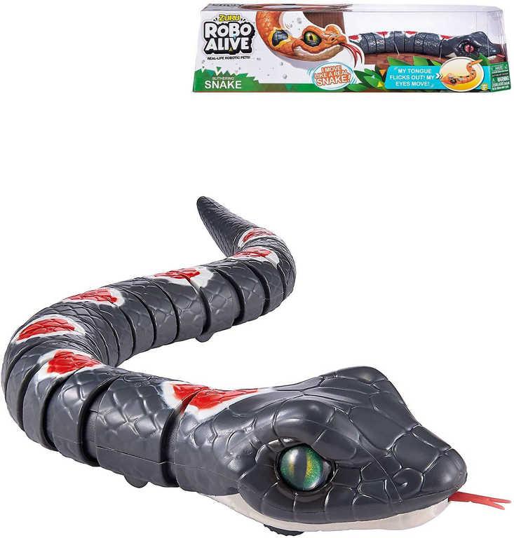 Zuru Robo Alive had zvířátko na baterie reaguje na dotek - 2 barvy