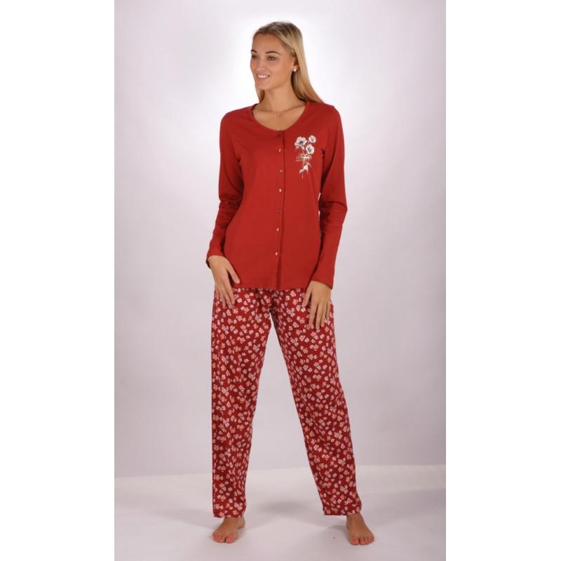 Dámské dlouhé pyžamo Sandra - Vienetta