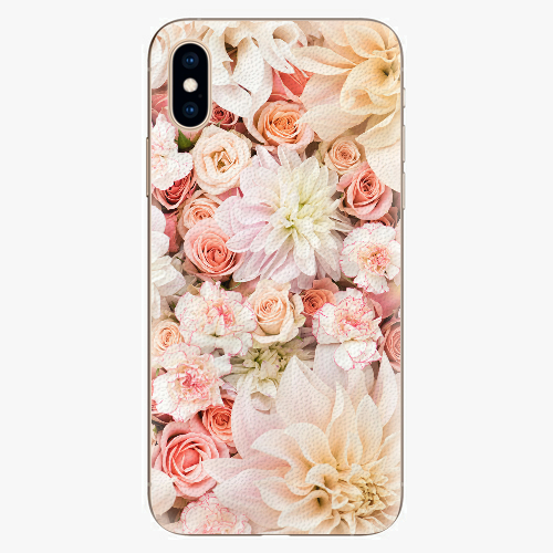 Silikonové pouzdro iSaprio - Flower Pattern 06 - iPhone XS