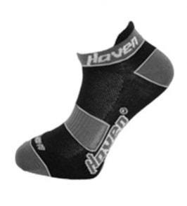 Ponožky HAVEN Snake 2páry černo/šedé - 3-5