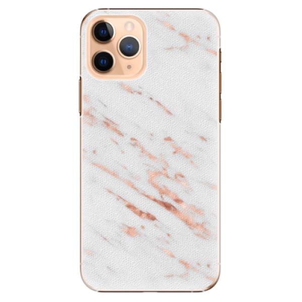 Plastové pouzdro iSaprio - Rose Gold Marble - iPhone 11 Pro