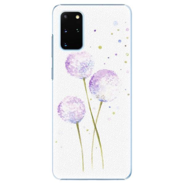 Plastové pouzdro iSaprio - Dandelion - Samsung Galaxy S20+