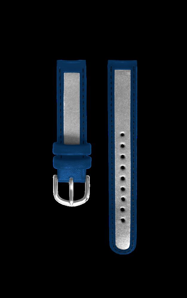 Reflexní tmavě modrý řemínek k hodinkám CLOCKODILE