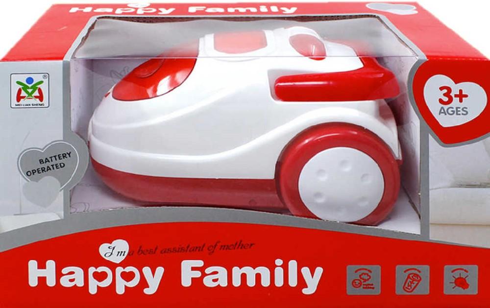 Vysavač dětský na baterie 20 cm Happy Family