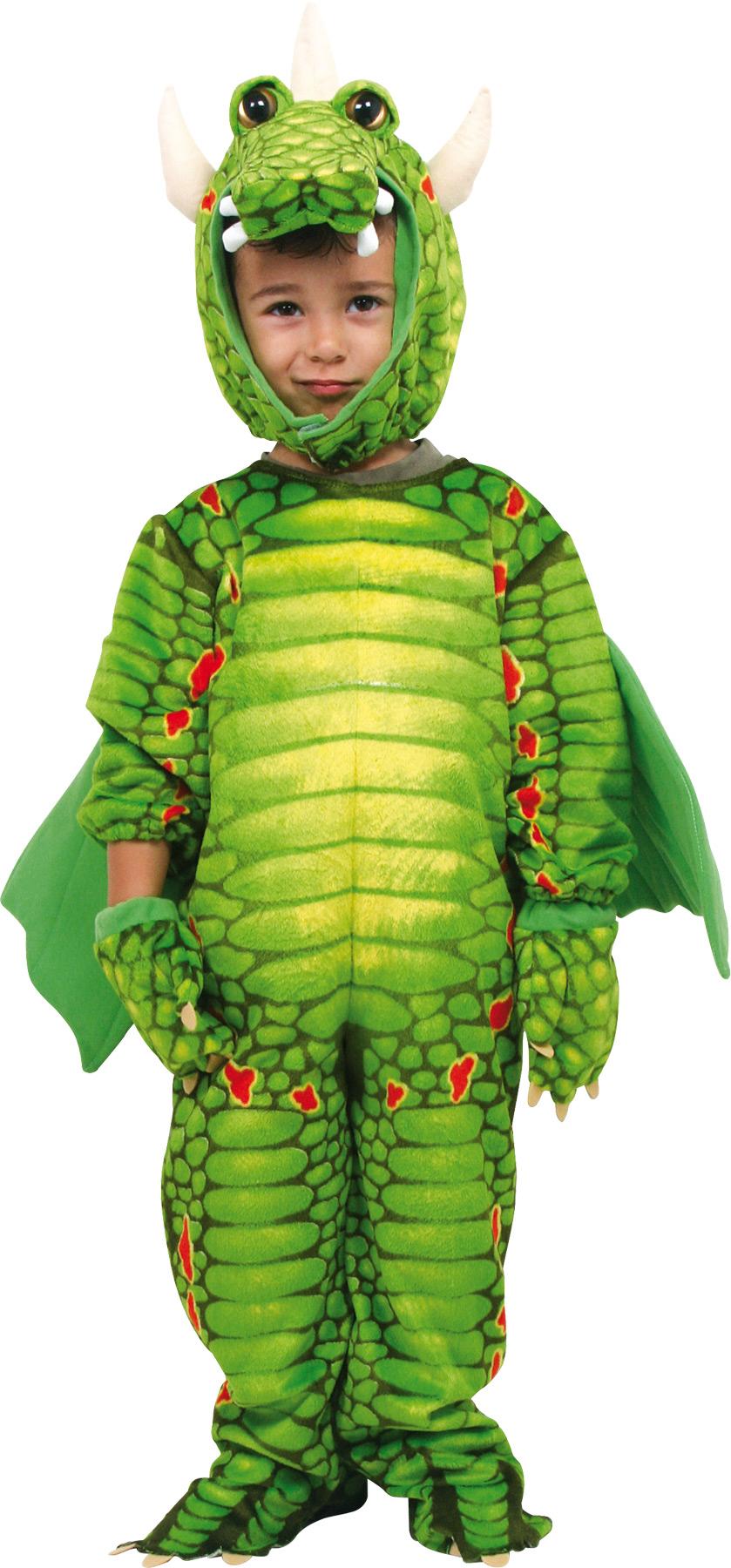 Small Foot Kostým drak zelený