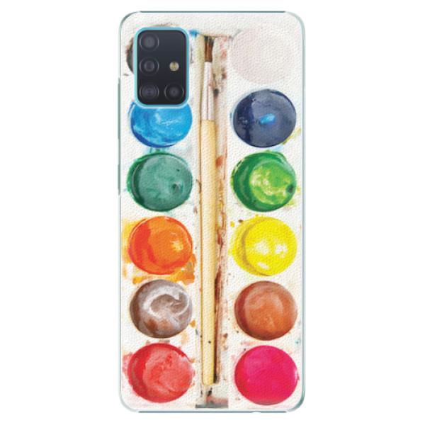 Plastové pouzdro iSaprio - Watercolors - Samsung Galaxy A51