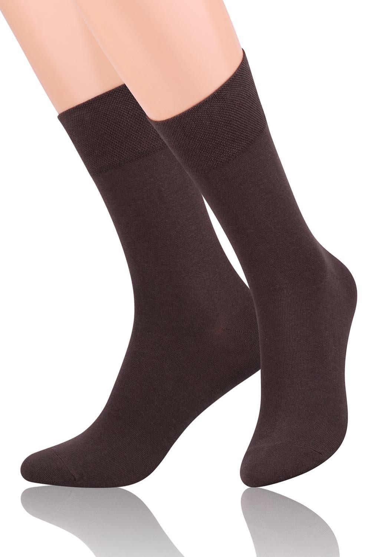 Pánské ponožky 063 - Steven - Černá/44-46