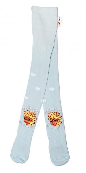 Bavlněné punčocháče Disney Frozen - sv. modrá, vel. 92/98 - 92 (18-24m)/98 (24-36m)