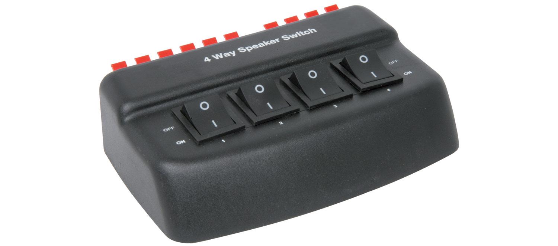 AV:link AD-SPK42, 4-kanálový reproduktorový rozbočovač signálu
