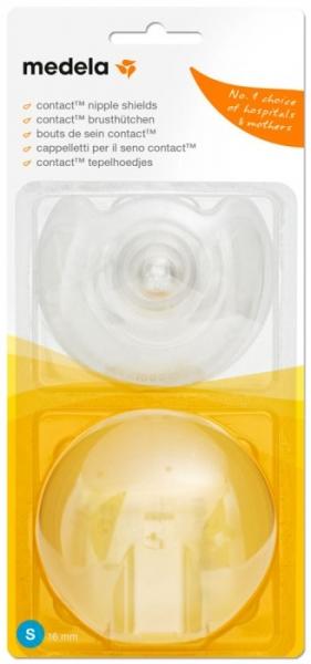 Medela Klobouček prsních bradavek Contact - 2ks , velikost S