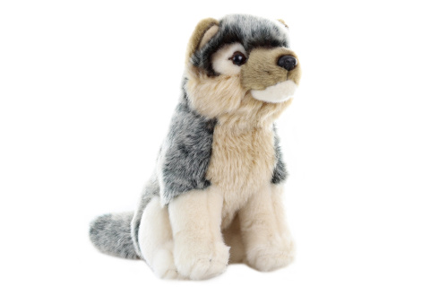 Plyš Vlk 20 - 30 cm