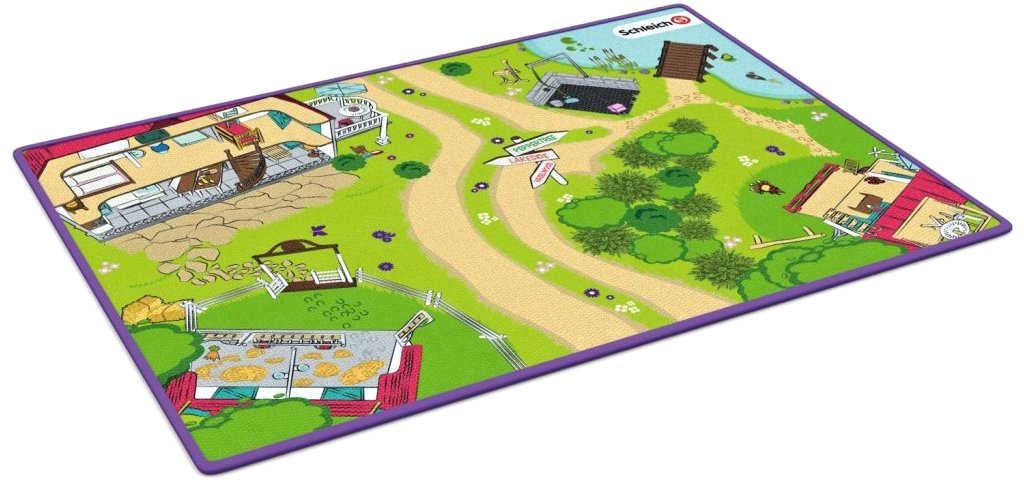 SCHLEICH Hrací koberec 133x92cm podložka na zem