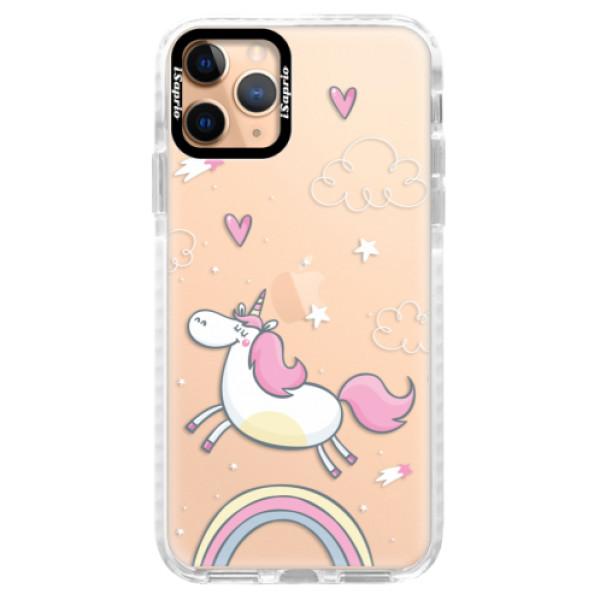 Silikonové pouzdro Bumper iSaprio - Unicorn 01 - iPhone 11 Pro